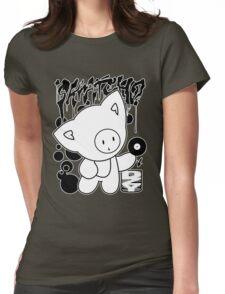 Cat Skratch Graf Womens Fitted T-Shirt