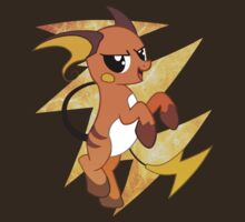 Pocket Raichu Pony by mewbits