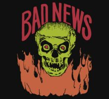BAD NEWS Skull Logo  by horrorkid