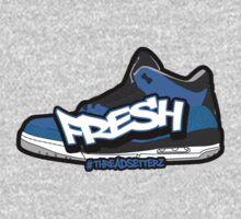 Powder Blue Fresh 3 Kids Tee