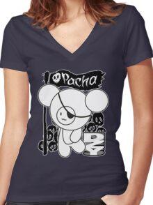 Captain Pacha Women's Fitted V-Neck T-Shirt
