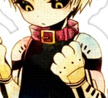 Genos One punch Man Sticker