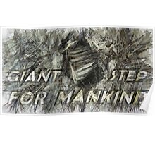 Giant step for mankind Poster