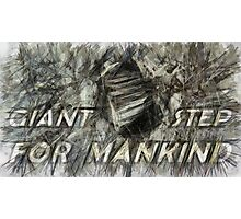 Giant step for mankind Photographic Print