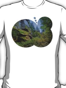 Mountain, granite rocks and pure nature | landscape photography T-Shirt