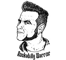 Rockabilly Warrior Photographic Print