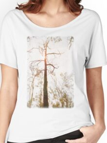 Winter in the Woodlands Women's Relaxed Fit T-Shirt