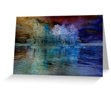 Island in the Storm Greeting Card