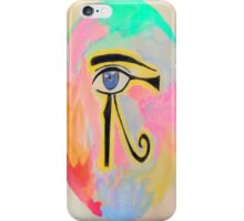 Pharaonic eye orb  iPhone Case/Skin