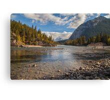 Bow River - Banff Canada Canvas Print