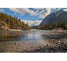 Bow River - Banff Canada Photographic Print