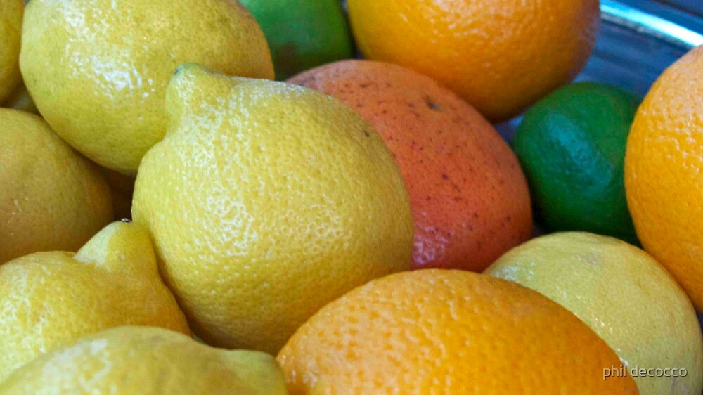 Citrus Bold by phil decocco