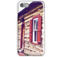 Log Cabin iPhone Case/Skin