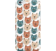 Funny little cats iPhone Case/Skin