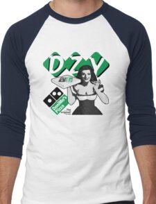 Pizza Girl Men's Baseball ¾ T-Shirt
