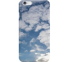 Cirrocumulus Clouds and Sunshine - Lake Ontario, Toronto, Canada iPhone Case/Skin