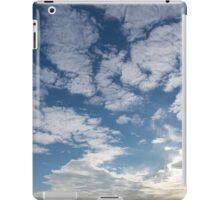 Cirrocumulus Clouds and Sunshine - Lake Ontario, Toronto, Canada iPad Case/Skin