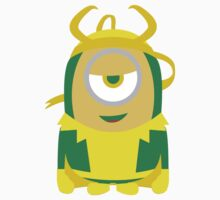 "Minions ""Loki"" Despicable Me T-Shirt Hero by artkrannie"