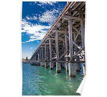 Fremantle Traffic Bridge Poster
