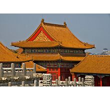 Beijing: Inside the Forbidden City Photographic Print