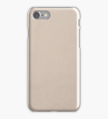 Brown chamois texture iPhone Case/Skin