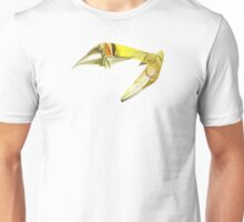 Fractal - Yellow Fish Swimming Unisex T-Shirt