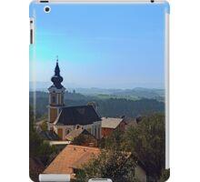 Village church, skyline and panorama | landscape photography iPad Case/Skin