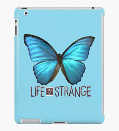 Life is Strange Butterfly iPad Case/Skin