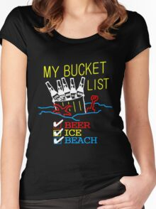 My Bucket List Women's Fitted Scoop T-Shirt