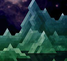Jade Mountains by etall
