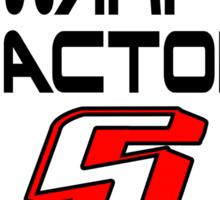 Starfleet Speed Limit Sign Sticker