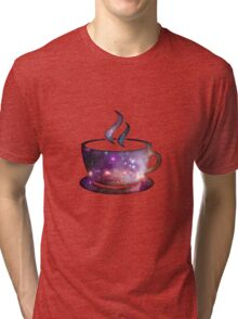 Cosmic Coffee Tri-blend T-Shirt