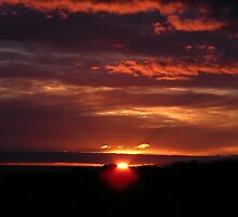 Scottish Highland Sunset 003 by spoilmesweetie