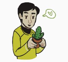 sulu with a cactus by vulcan-ology