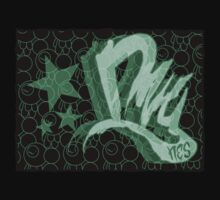 Dreamer Pattern Green Kids Tee