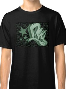 Dreamer Pattern Green Classic T-Shirt