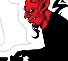 Devil Hacking in Progress Sticker