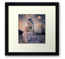 Evening Breeze Framed Print