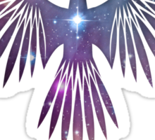 Cosmic Eagle Sticker
