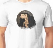Castiel and Crowley making a deal Unisex T-Shirt