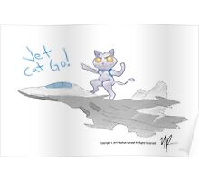 Jet Cat GO! Poster