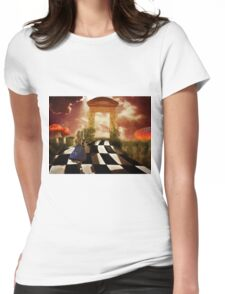 Alice in a Hurry Womens Fitted T-Shirt