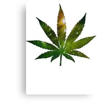 Marijuana Leaf Canvas Print