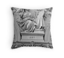 Putting the Art in Architecture Throw Pillow