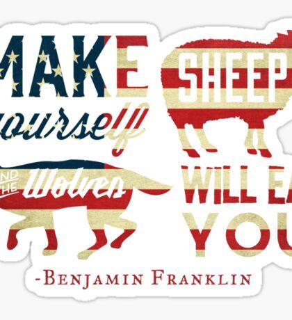 Make Yourself Sheep Sticker