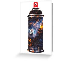 Graffiti Universe Greeting Card