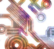 Cosmic Circuit Sticker