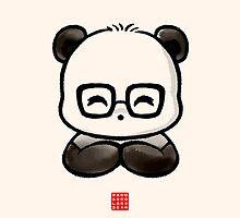 Geek Chic Panda by Panda And Polar Bear