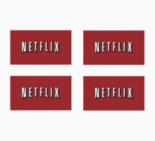 Netflix logo stickers by iepster