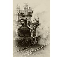 Metropolitan Steam Engine Photographic Print